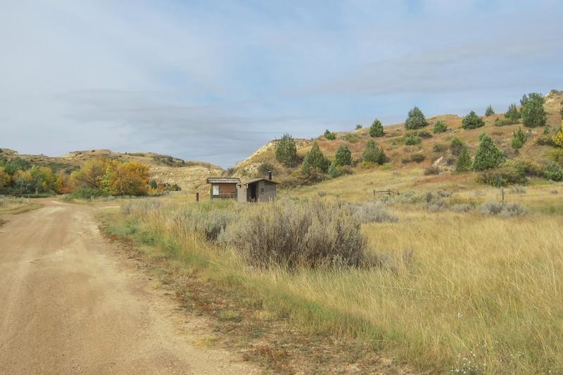 Elkhorn Ranch Campground, US Forest Service, North Dakota