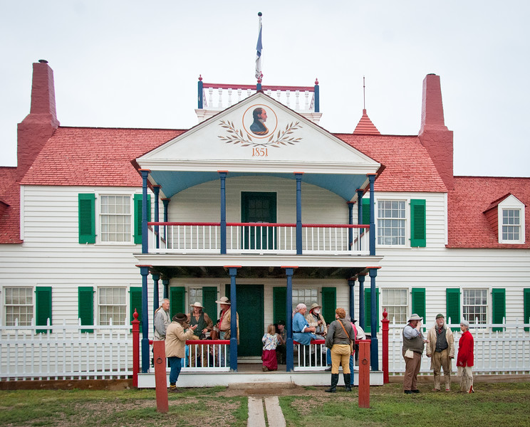 Fort Union Trading Post  Bourgeois House