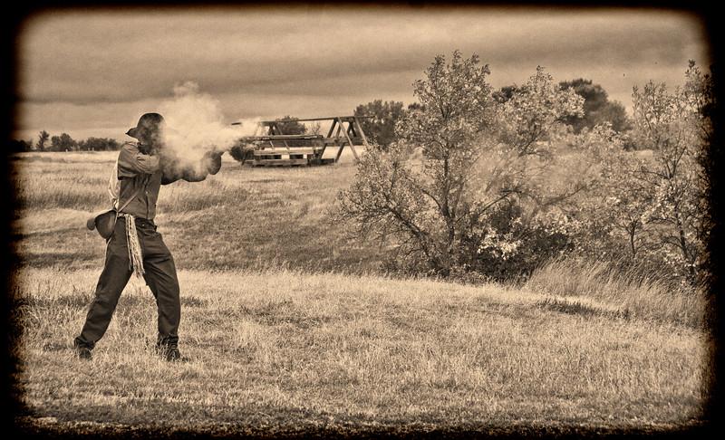 Days Long Past at Fort Union, North Dakota