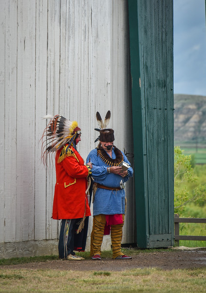Headdress Conference at Fort Union Trading Post