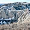 Southwest.  To Devils Pass.  Badlands..  North Dakota