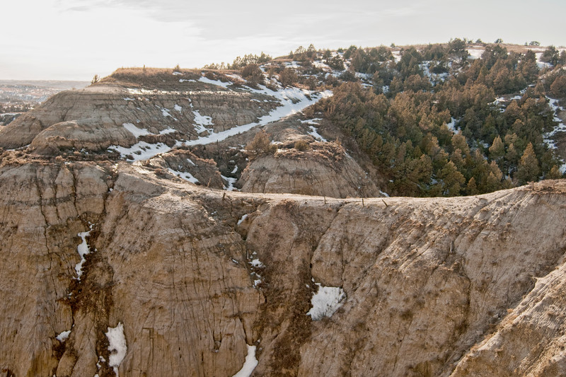 Devils Pass, the Badlands of North Dakota