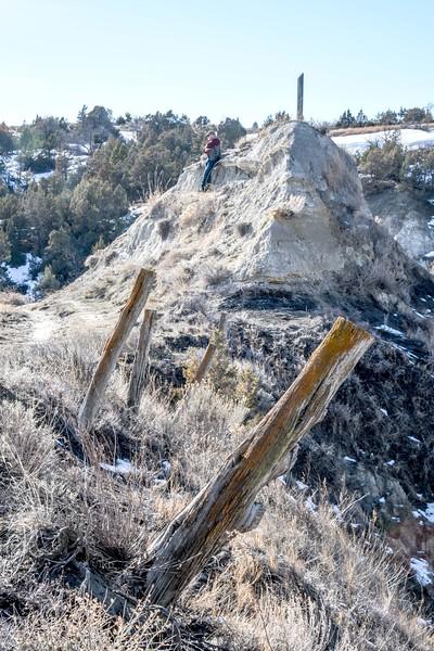 The Edge.   Devils Pass.  The Maah Daah Hey Trail.   Badlands. North Dakota