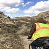 Mile One.  The Maah Daah Hey Trail.   North Dakota