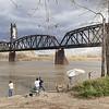 Fishing Beneath the Fairview Bridge