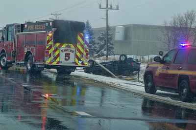 Fire Resue for a Car Accident