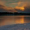 Last sun before the snow