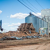 Regan Elevator comes down