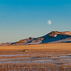 nearly full moon stark county