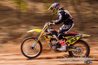 Motocross Track Race