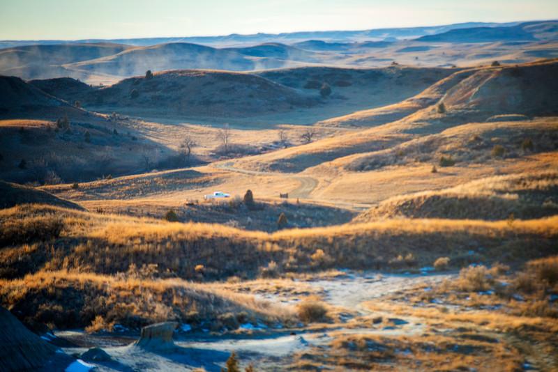 Grasslands beyond the Petrified Forest