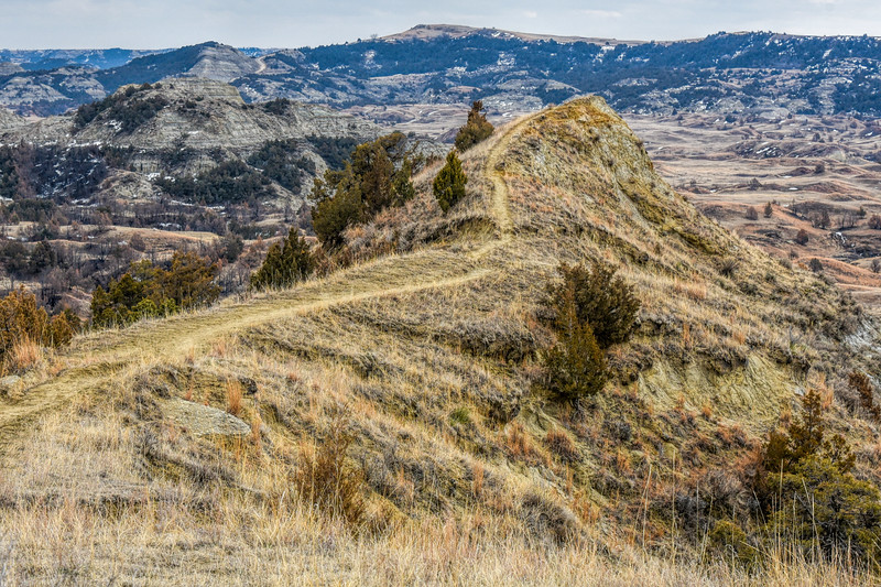 """At the end of Boicourt Trail, you can take an extension out on a narrow ridge overlooking the valley. <br /> <br /> You can own this image. Click """"buy"""" to see the options from wall prints to coffee mugs."""