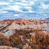"Even on cloudy days, the colors of the Badlands are impressive.<br /> <br /> You can own this image. Click ""buy"" to see the options from wall prints to coffee mugs."