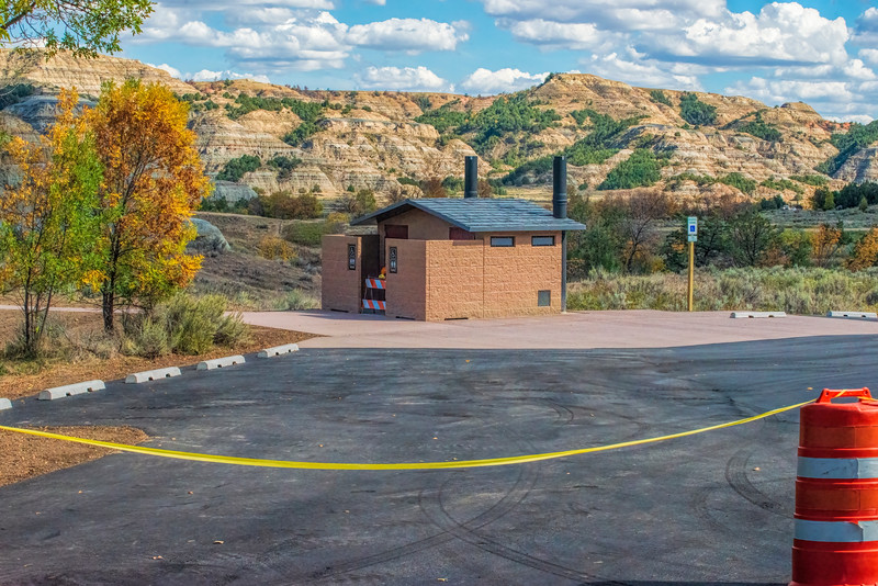 Caprock Coulee construction
