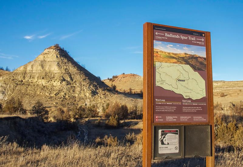 Badlands Spur Trail , Theodore Roosevelt National Park