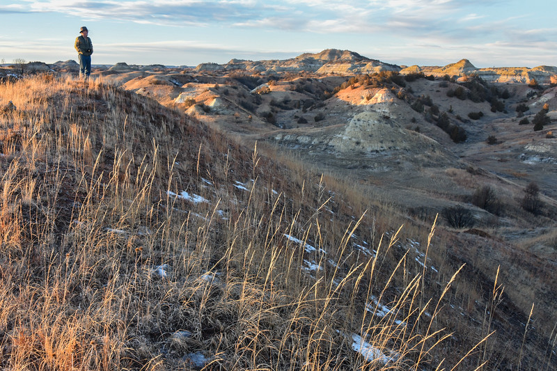 Hike to a High Point in the Badlands