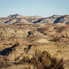 Mid December Landscape in the Badlands