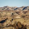 Mid December Landscape in the Badlands