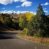 Blue skies over Theodore Roosevelt National Park
