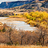Little Missouri River at the North Unit of the Theodore Roosevelt National Park