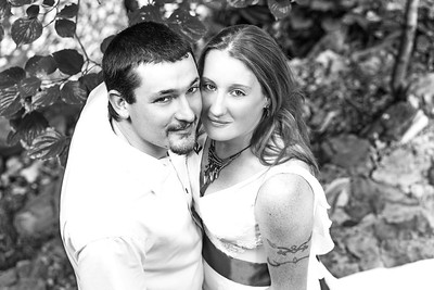Dana and Shaylan Wedding-34b&w