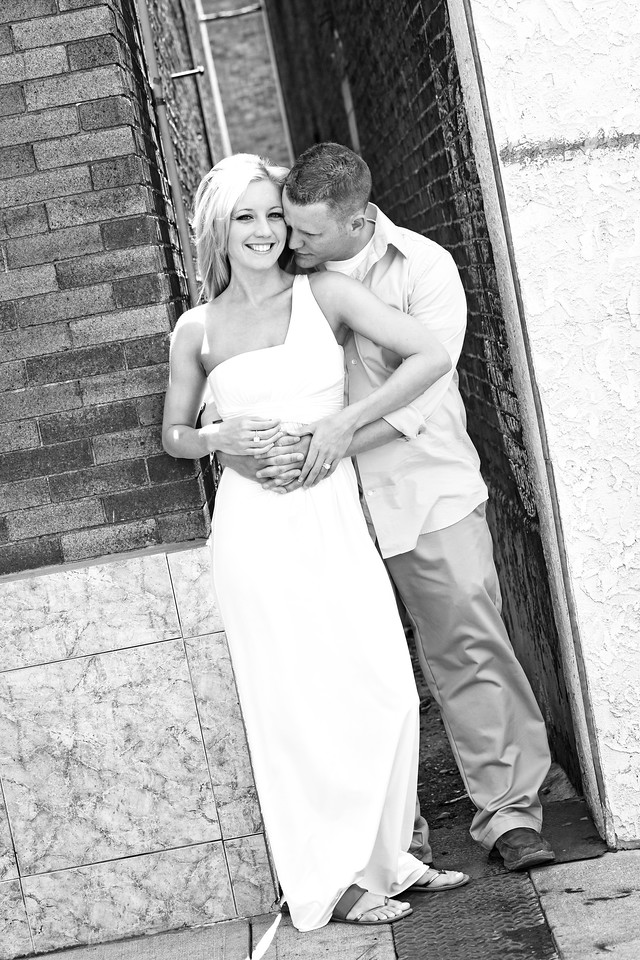 Evan and Kim Reception -2b&w