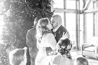 Jim and Kristin Wedding 2016-4b&w