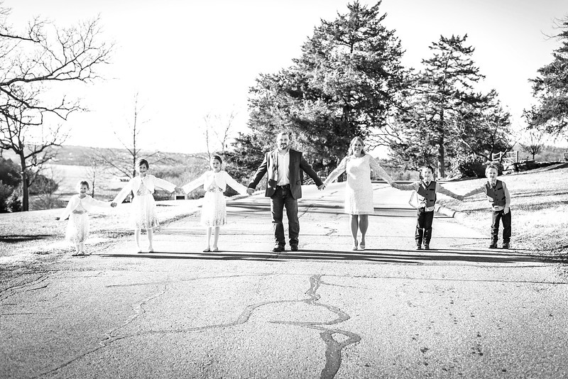 Jim and Kristin Wedding 2016-3b&w