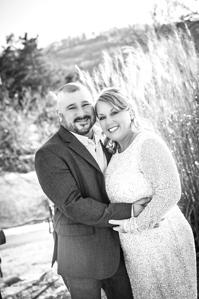 Jim and Kristin Wedding 2016-2b&w