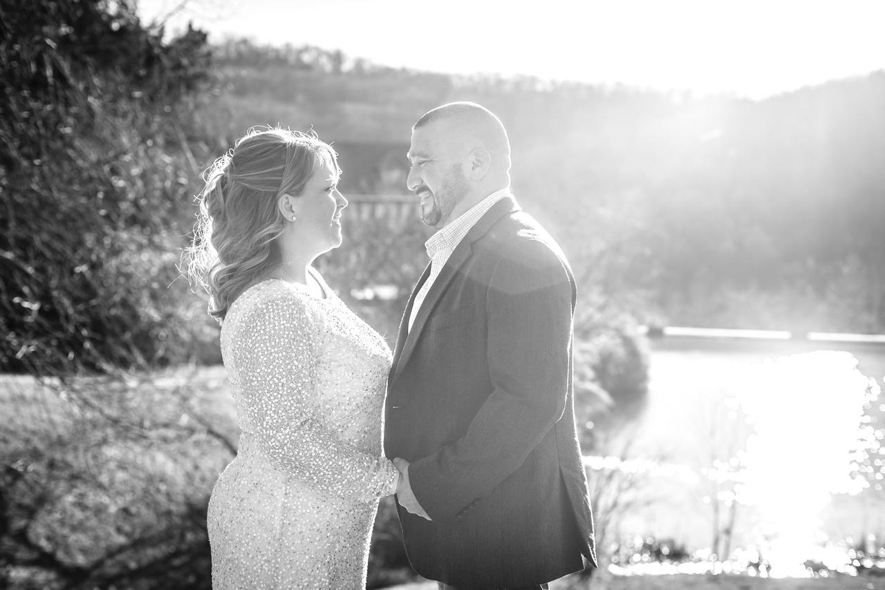 Jim and Kristin Wedding 2016-27b&w