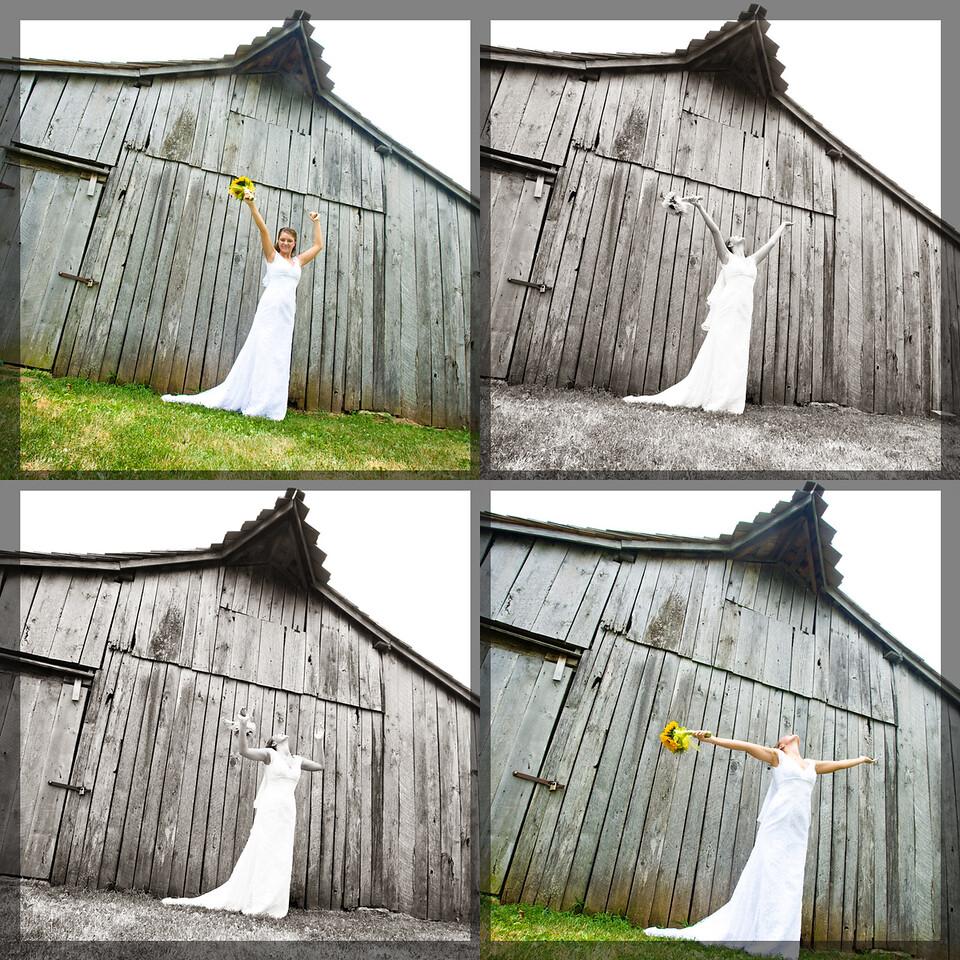 Bride Collage