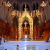 High Altar of Sacred Heart Basilica Cathedral in Newark, NJ