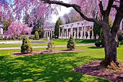 The Gardens at Delbarton Prep School in Morristown