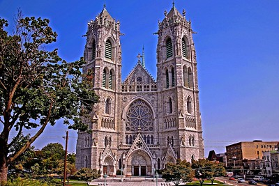 The Basilica Cathedral of the Sacred Heart in Newark, NJ
