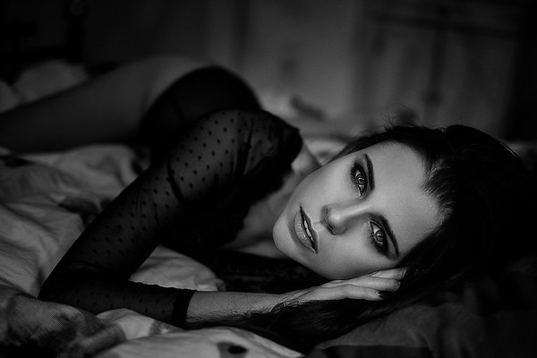 Beauty Photography | Black & White | Daniel Good | goodshots.ch