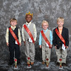 Tiny Mister - pictured left to right - Zek Crocker (3rd), Daylon Marquis Vaughan (Tiny Mister), Logan McCord (1st) and John Paul Ashford (2nd) - Photo ©Joey Brent, 2012