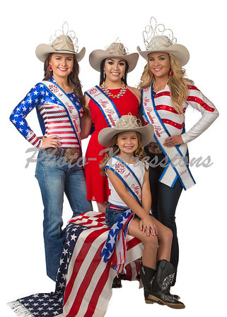 rodeo red white & blue