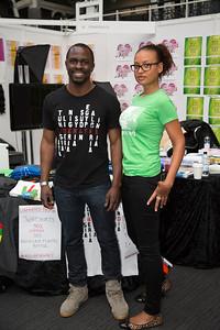 Gbenga Akinnagbe and partner