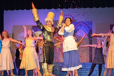 2016 Beauty and the Beast - High School Musical