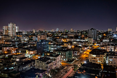 Havana at night...