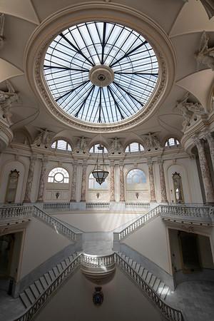 The Alicia Alonzo Grand Theater, the Grand Staircase.
