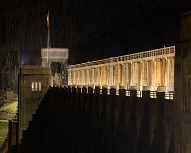 Dam Nighttime