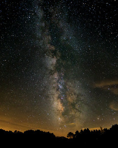 Milky Way over Greenbrier