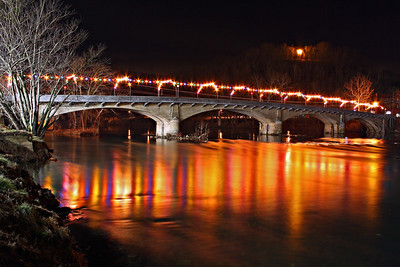 Memorial Bridge in Alderson