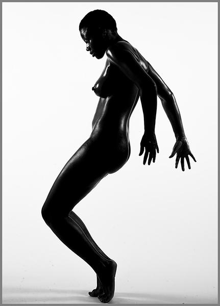 Black Artistic Nude