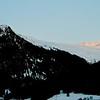 Moonrise over Davos. Switzerland 2008.