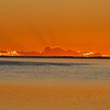 Sunset from Heron Island, Australia 2006.