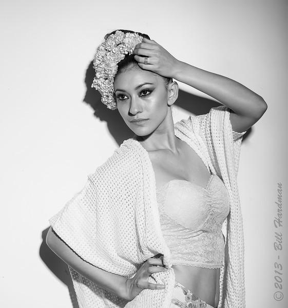 Model, MUA & Hair: Priscilla Chavez Designer: Fernanda Gratton Flowers: Veranda Flowers, Gifts, and Events and El Paso Floral Photographer: Bill Hardman