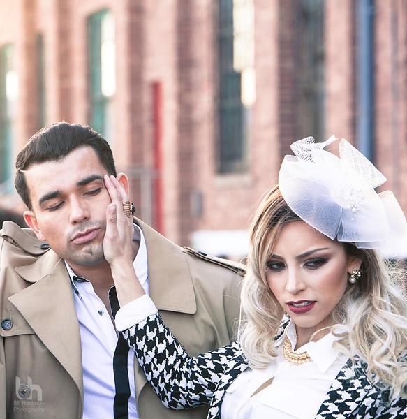 Raquel Maximiana Lopez and Zack Tellez