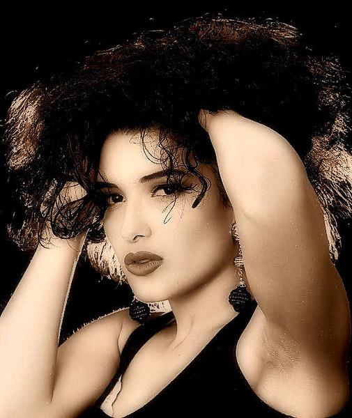 Model and make-up artist Yesim.